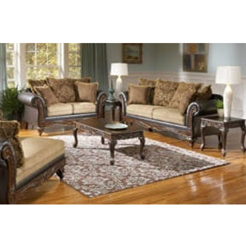 2 Piece Set Sofa Loveseat Furniture