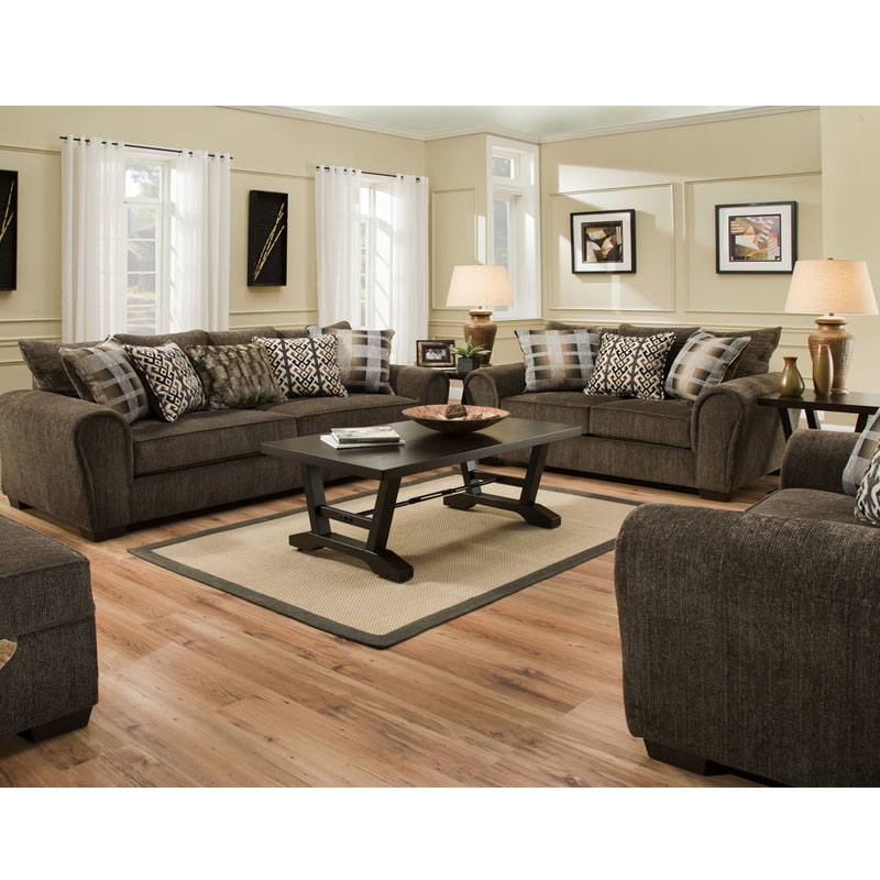 2 PIECE SET SOFA & LOVESEAT By Lane • Furniture & Mattress