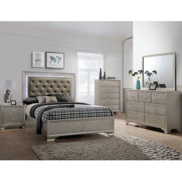 5 PIECE QUEEN SIZE BEDROOM SET