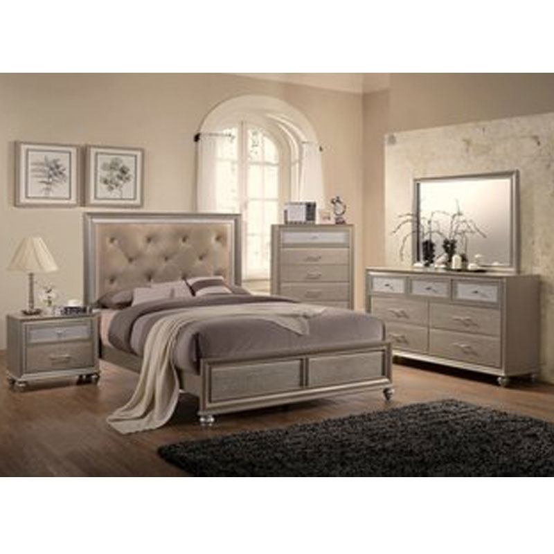 5 PIECE QUEEN SIZE BEDROOM SET • Furniture & Mattress Discount King