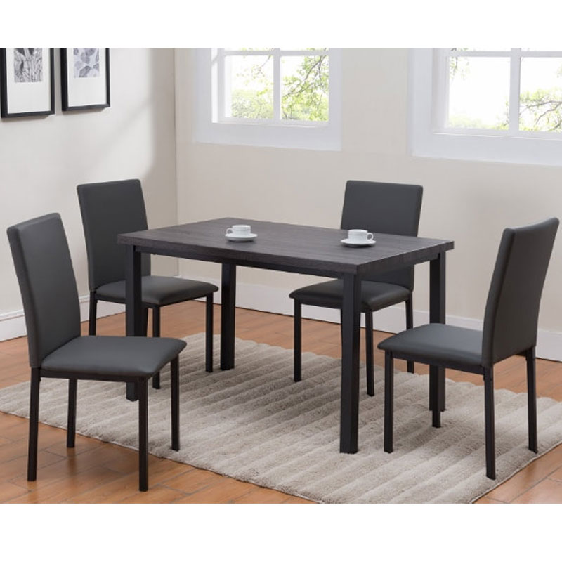 5 PIECE DINETTE SET • Furniture & Mattress Discount King