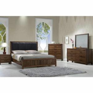7 PIECE QUEEN SIZE BEDROOM SET • Furniture & Mattress Discount King