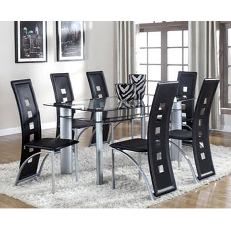 Cheap 7 Piece Dining Sets: 7 PIECE DINETTE SET • Furniture & Mattress Discount King