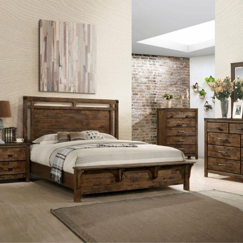 5 PIECE QUEEN SIZE BEDROOM SET • Furniture & Mattress Discount King