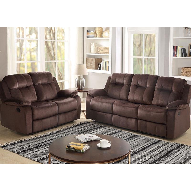 Fine 2 Piece Double Reclining Sofa Loveseat Set Bralicious Painted Fabric Chair Ideas Braliciousco