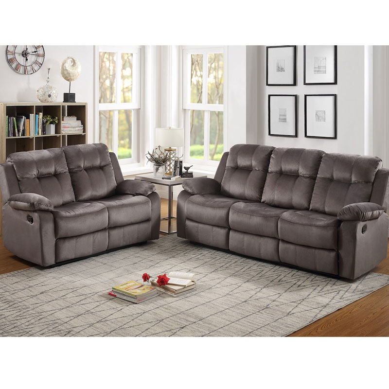 Prime 2 Piece Double Reclining Sofa Loveseat Set Beutiful Home Inspiration Cosmmahrainfo